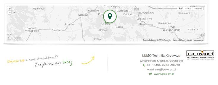LUMO Technika Grzewcza 62-050 Mosina-Krosno, ul. Główna 51B tel. 618-136-525, 618-132-891 e-mail lumo@lumo.com.pl web www.lumo.com.pl