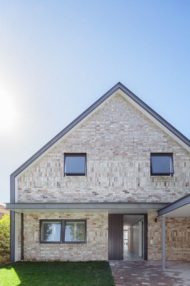 House Maher / Tribe Studio /// Brick vertical + horizontal ///
