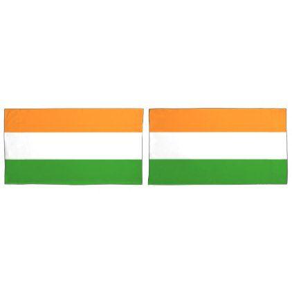 #National Flag of India Pillowcase - #Pillowcases #Pillowcase #Home #Bed #Bedding #Living