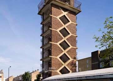 Chrisp Street Market Clock Tower, Non Civil Parish - 1450866| Historic England