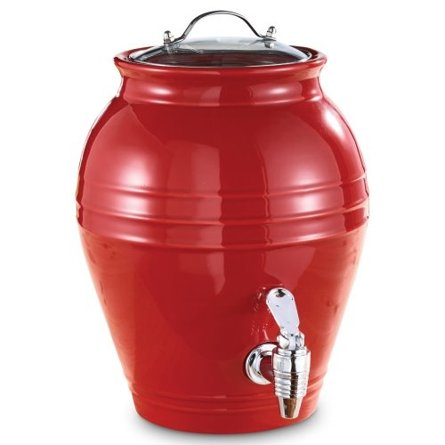 1.6 gal. Honey Pot Peel Beverage Dispenser1 6 Gal, Kitchens Decor, Beverages Dispenser, Pots Peel, Honey Pots, Beverages Dispeners, Peel Beverages