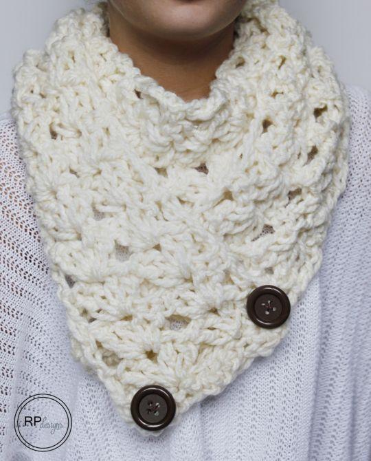 Mejores 58 imágenes de scarves en Pinterest | Punto de crochet ...