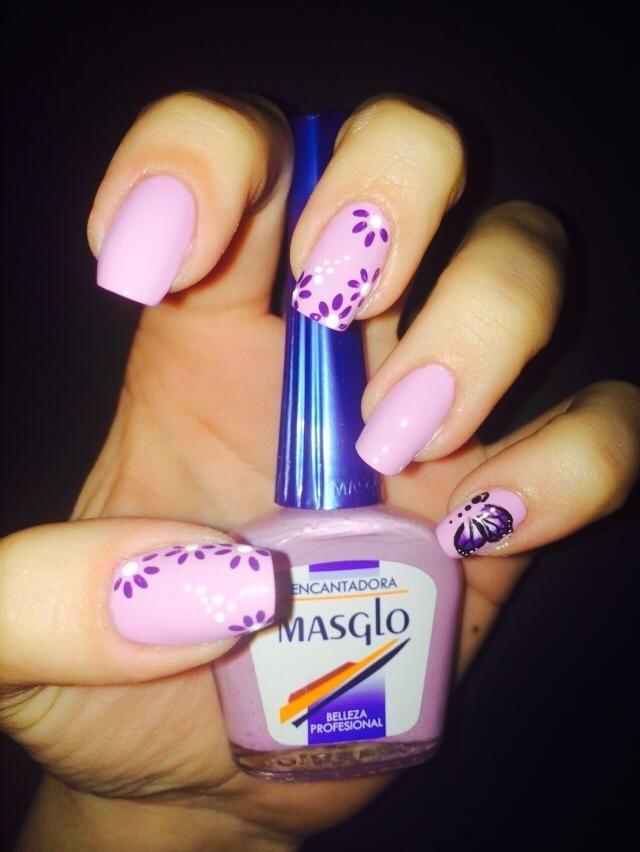 Diseño de Tatiana García #nails #masglo #inspiration