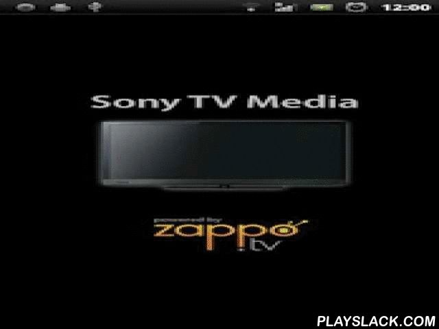 Sony TV Media Player  Android App - playslack.com ,  Just bought your internet connected Sony TV or already have one at home? Well, with this app you can unleash the power of your new Sony TV.Simply download this FREE app and access additional content, currently not available on the Sony TV itself as you use your Android to control your Sony TV over Wi-Fi.Enjoy millions of videos, images, and songs anywhere and share them with your friends. Easily search and find interesting content from…