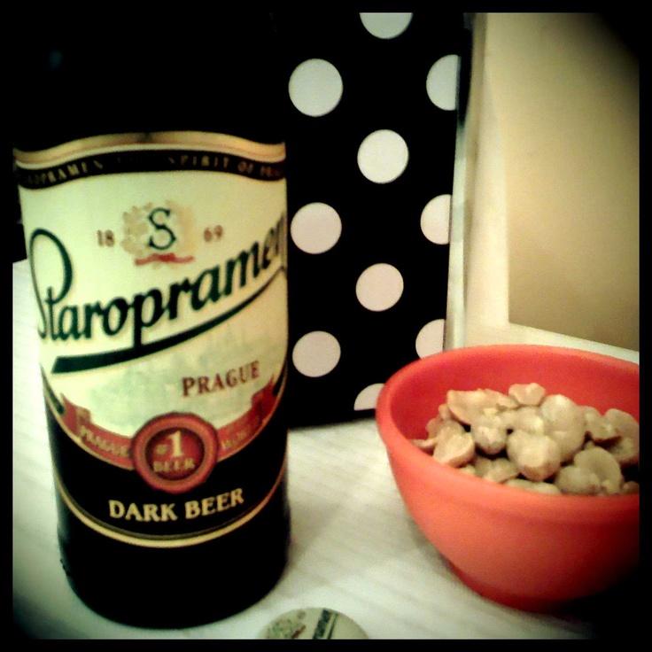 Staropramen - Dark Beer - from Prague - Awsome Dark Beer! ♥