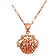 Rose Gold Spinner Pendant - BEE-R63629
