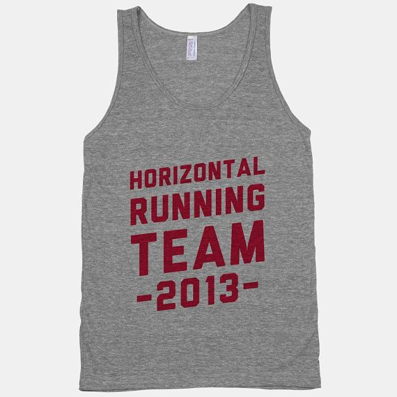 Pitch Perfect Horizontal Running Team by ActivateApparel on Etsy, $26.00