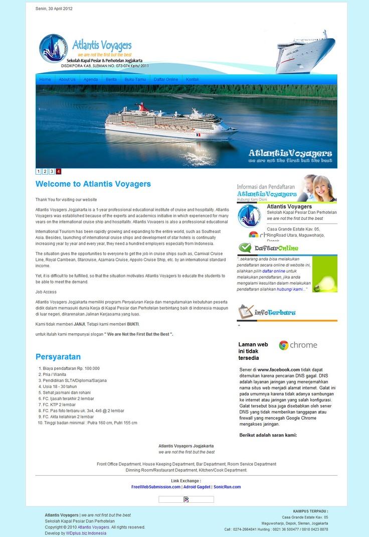 Simple Design - Atlantis Voyagers Yogyakarta at http://atlantisvoyagers.com