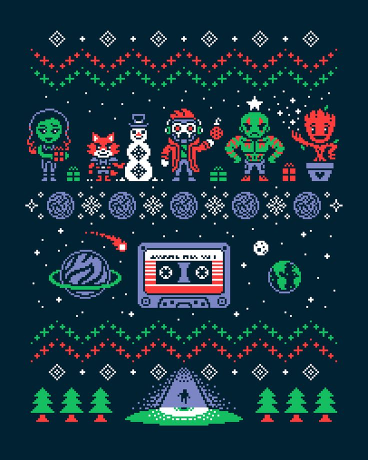 Holiday Mix Vol.1 by Drew Wise - Guardians of the Galaxy