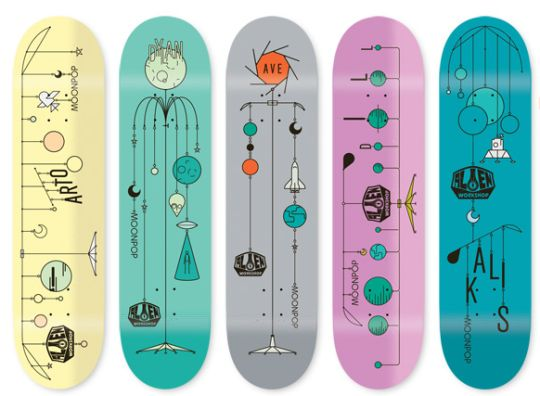 Alien Workshop  Skateboard graphics  Skateboarding