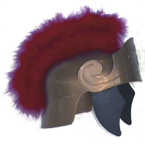 Roman Marabou Costume Helmet - This helmet will make any Roman warrior costume more manly!  #yyc #costume #helmet