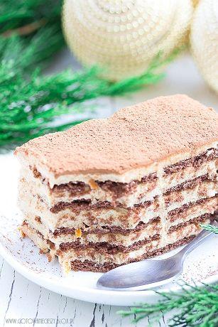 Dzisiaj mam dla Was kolejną słodką propozycję na Święta. Delikatne, aromatyczne i bardzo świąteczne ciasto bez pieczenia które pachnie i smakuje po prostu