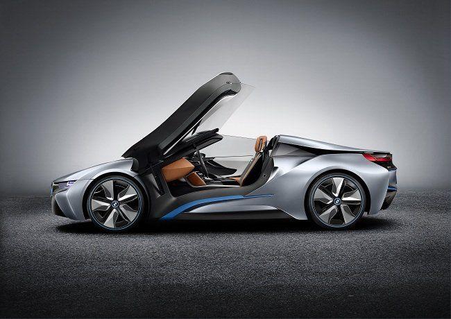 The BMW i8 Concept Spyder