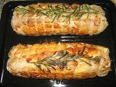 Tra le classiche ricette di Natale c\'è il rotolo di vitello farcito, un secondo piatto sontuoso adatto al pranzo più importante dell\'anno.