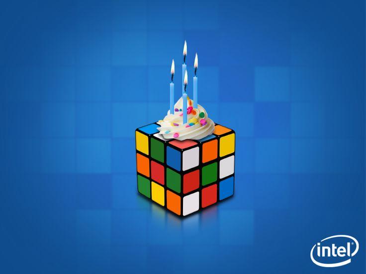 Новосельем, картинки с днем рождения кубика рубика