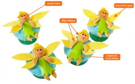 Fairy CupcakesBirthday Parties, Cake Design, Cupcakes Design, Cake Ideas, Fairies Cake, Birthday Cupcakes, Parties Ideas, Fairies Cupcakes, Birthday Cakes