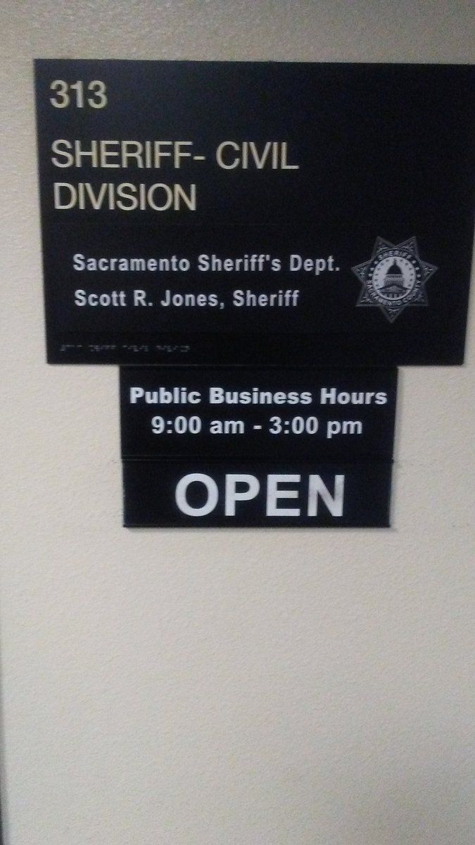 Sacramento Process Servers - Sure Serve Process Servers open bank & wage garnishment levies with the Sacramento Sheriff's Department.
