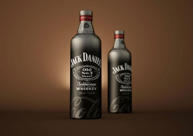 Jack Daniels & Cola (Concept) | Packaging of the World: Creative Package Design Archive and Gallery