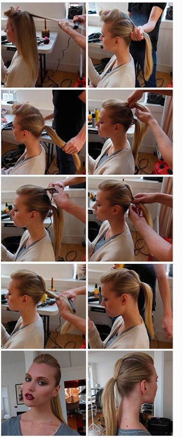 Step by step hair tutorial: how to do the perfect double ponytail