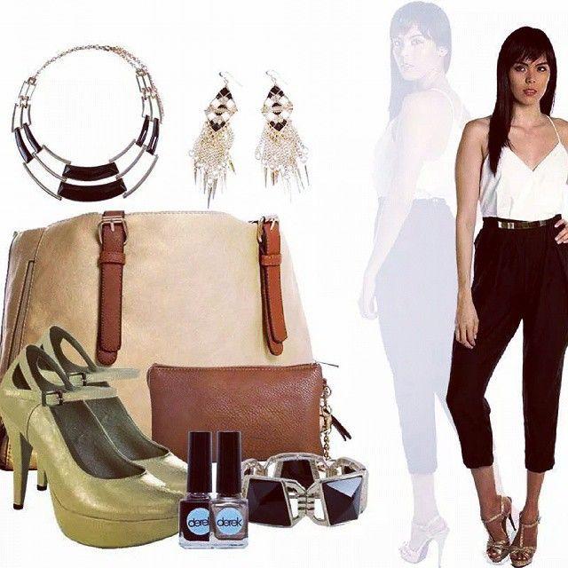 Derek sabe que el estilo es muy importante, por eso combina la mejor ropa con los accesorios adecuados #Mujer #latina #women #fashion #moda #shoes #zapatos #calzado #handbag #accesory #accesorio #goodlooking #pretty #bucaramanga #cccuartaetapa Derek