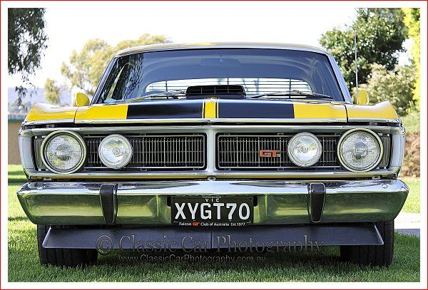 Ford Falcon XY GT - Full Frontal from Classic Car Photography