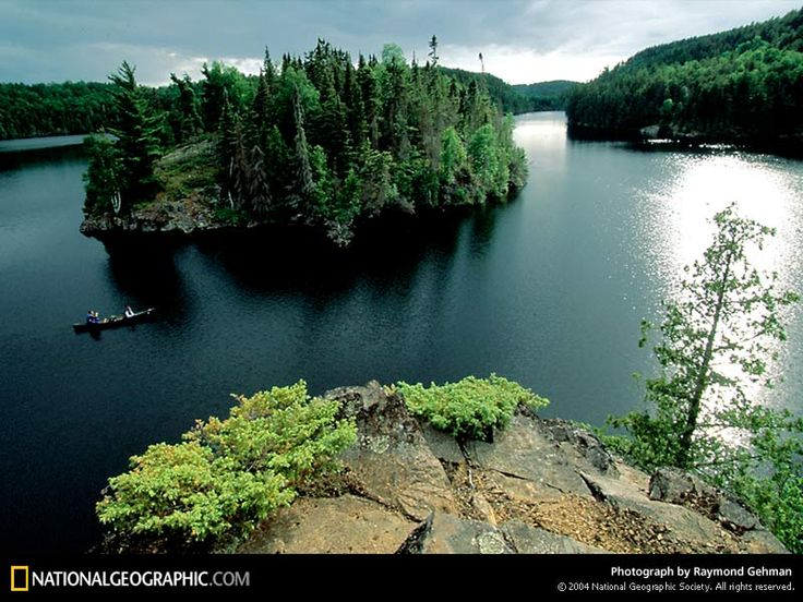 Canoeing in the Boundary Waters~Minnesota and Canada