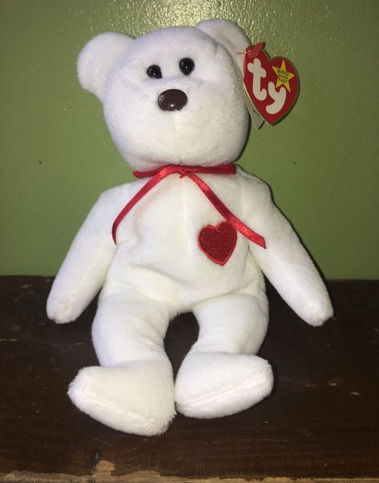 "TY BEANIE BABY ""VALENTINO"" RARE 1993/1994 COLLECTIBLE HANG TAG ERRORS MWMT #Ty"
