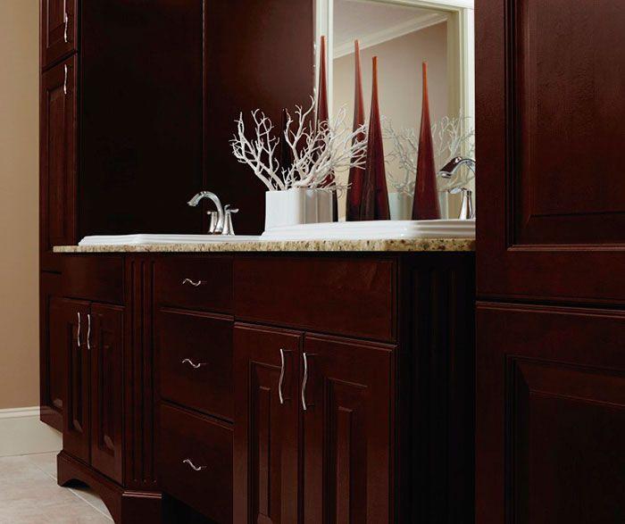 Inspiring Kitchen Craft Bathroom Vanities. Espresso Cabinets in Casual Bathroom  Kitchen Craft at DKB 47 best images on Pinterest cabinetry