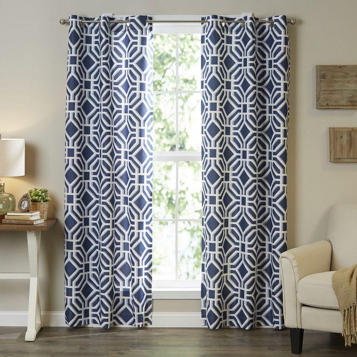Maci Single Curtain Panel & Reviews | AllModern