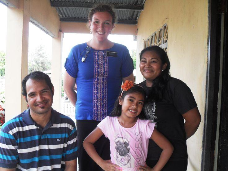 Hermana Tatiana, her family, and me
