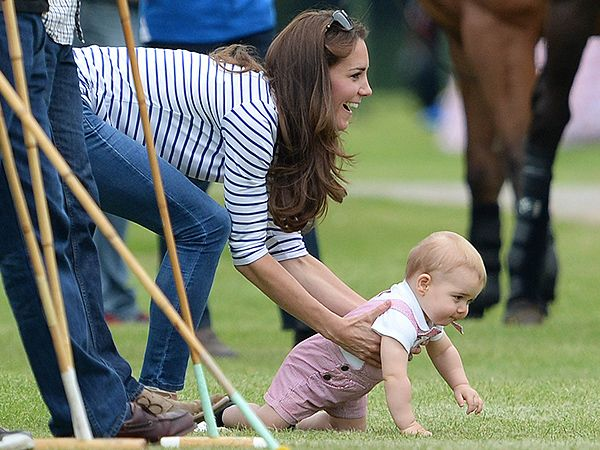 Prince George and Kate Cheer on Prince William During Father's Day Polo Match| The British Royals, The Royals, Kate Middleton, Prince George...