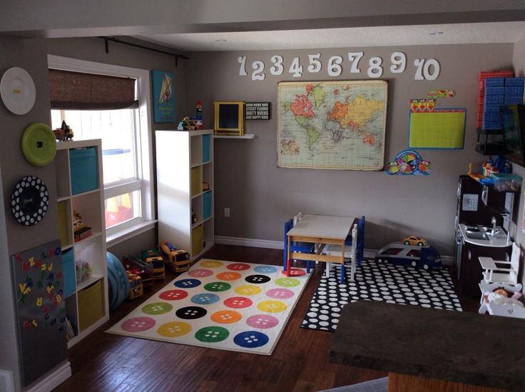 Playroom Decor Pinterest