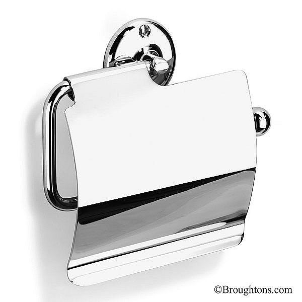 Samuel Heath Covered Traditional Style Toilet Roll Holder Chrome