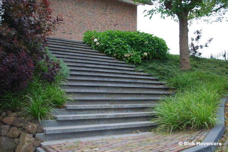 Blok Hoveniers #tuintrap #Schellevis #Carex