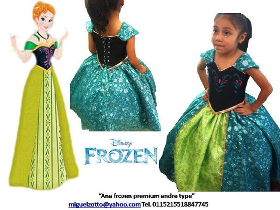 Princess Ana Anna Frozen disney Elsa by miguelzottoyahoocom, $150.00 #Frozen #Disney #DisneyPrincess