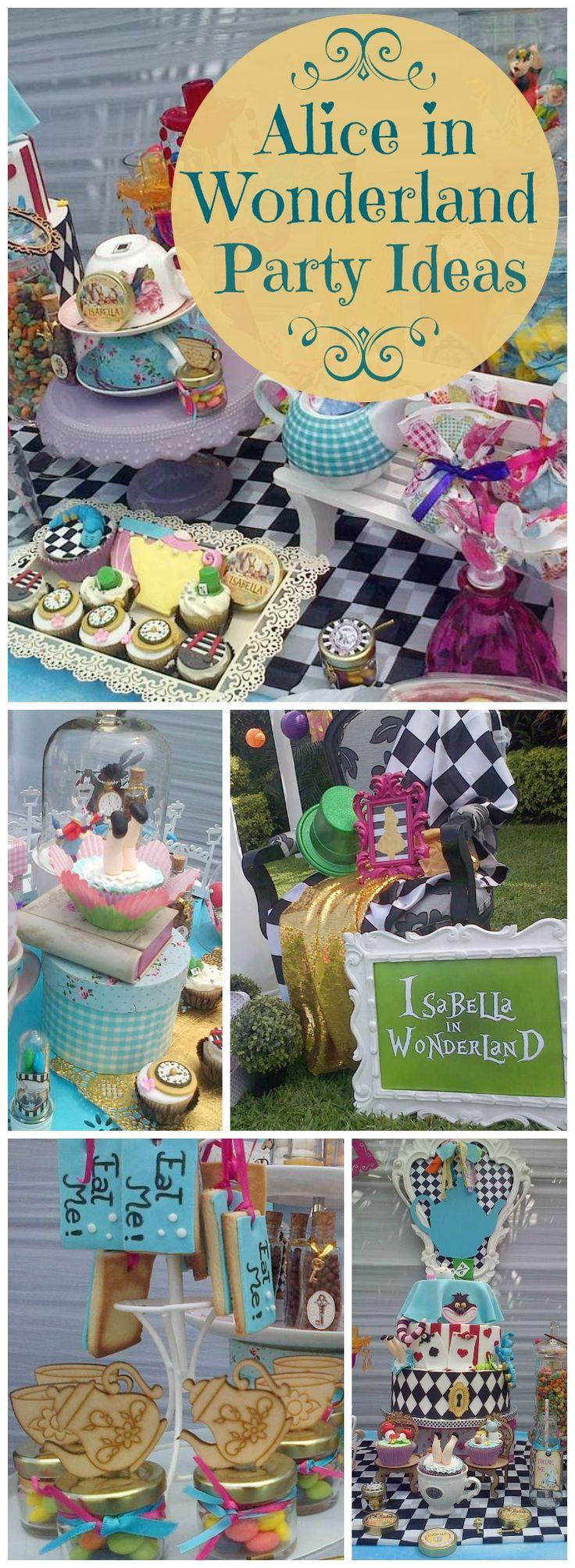 """Alice in Wonderland / Birthday """"Isabella in Wonderland"""""""