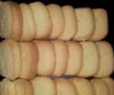 Grandma's Shortbread - use 100g of icing sugar (and put all ingredients in together).