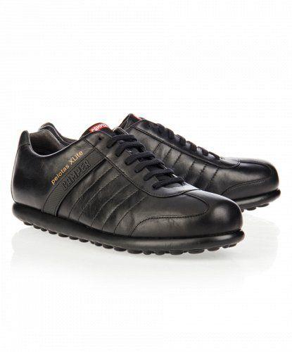 Casual Camper Pelotas XL - Zapatos de Piel Negro en Nice & Crazy