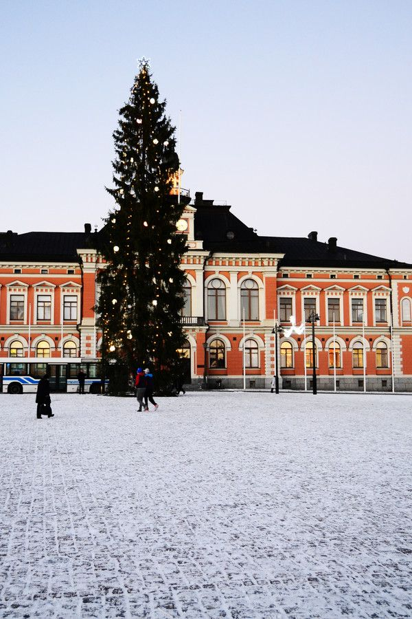 Christmas in Kuopio, Finland