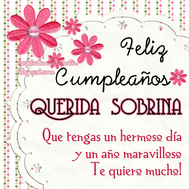 Tarjetas de saludo gratis: Tartetas de cumpleaños personalizadas para AMIGA, NUERA, SUEGRA, SOBRINA