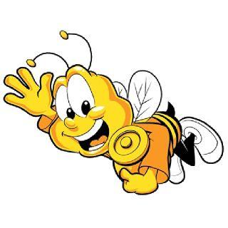 Симпатичные Смешные Пчелы - мед пчелы Бесплатные изображения