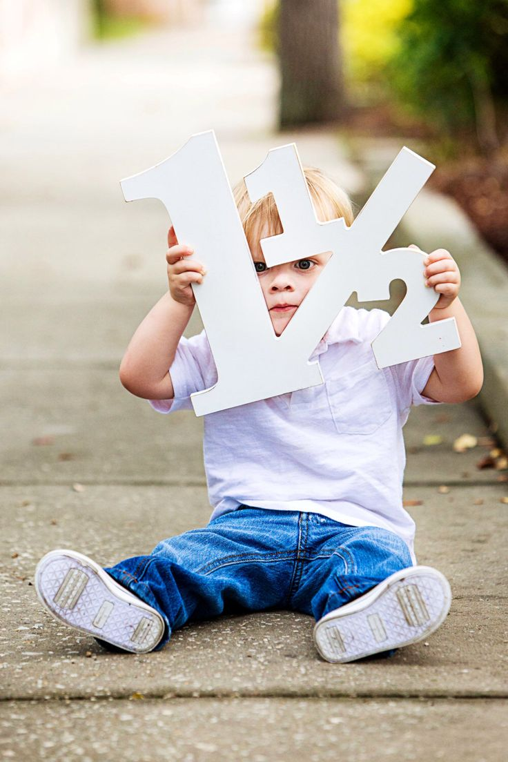 18 Month Old Toddler Photo Prop - 12 inch 1 1/2 for 18 Month Photo Shoot - Photography Props - Large Wooden Number Sign (Item - NUM001) by ZCreateDesign on Etsy https://www.etsy.com/listing/199609990/18-month-old-toddler-photo-prop-12-inch