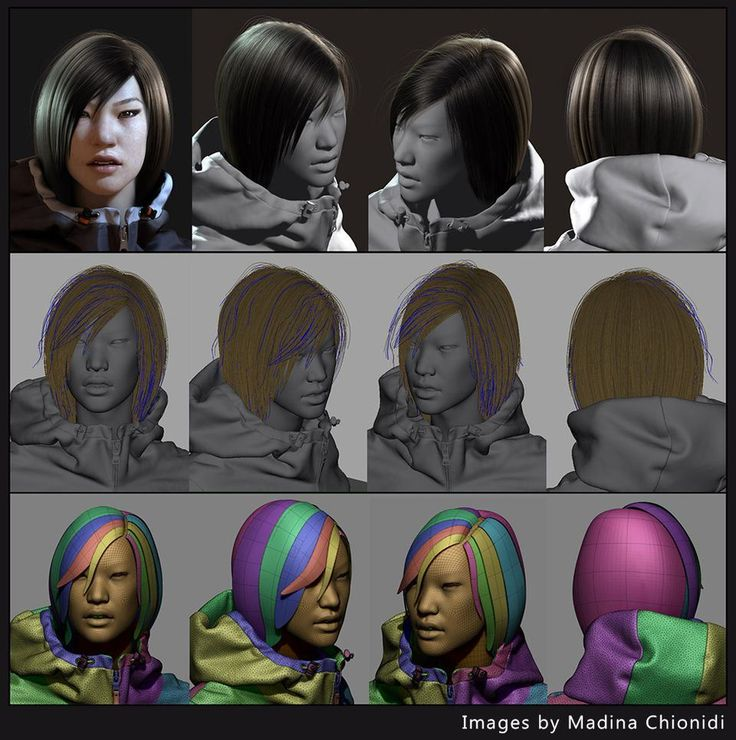 GMH2 for Maya Hair Script