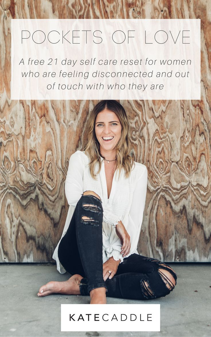 If you're feeling disconnected and out of touch with who you are, it might be time to reset and come back to love. Self love, that is. Pockets of Love takes you through a 21 day reset to get you back on track, or maybe allow you to fall in love with yourself | self love courses | self love tips | mindful living tips