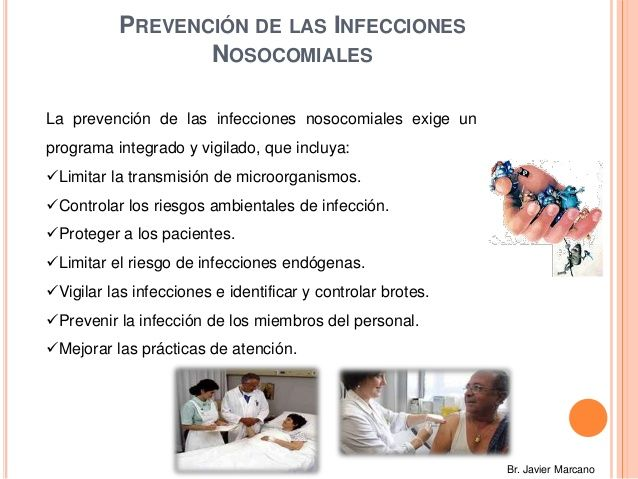 Prevención de infecciones nosocomiales