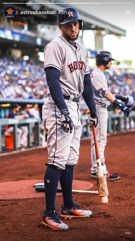 Houston Astros World Series Champion MVP GEORGE SPRINGER