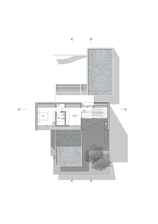 Lottersberger House,Upper Floor Plan