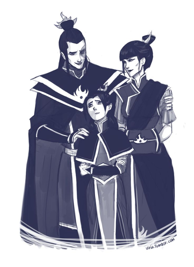 viria:    Don't worry. They will like you.  It's just I wanted to draw some Zuko family..I don't know, in my head Honora might not know Kataang kids for a while.. Considering they all live in Republic city and Zuko and his family is rather far away in the fire nation, busy with all royalty duties. So this is kind of an important meeting, in which Zuko will finally introduce his daughter to those kids:D And she's is kind of worried hehebut of course they will like her :D