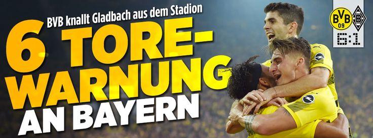 BVB knallt Gladbach aus dem Stadion