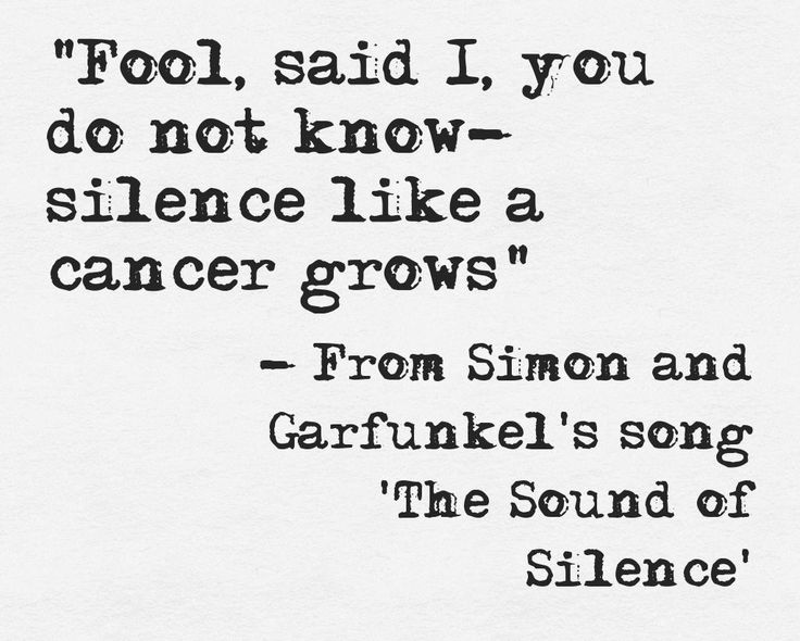 The Sound of Silence: Analysis